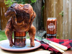 Paddy's Barbecue and Brewery Beer Can Chicken