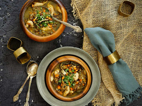 Chicken and Mushroom Wild Rice Soup