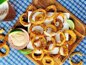 Step by Step: Baked Onion Rings