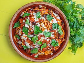 Chef Michele Pizzulo's Spaghettia alla Puttanesca