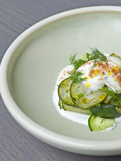 Off the Menu: Grilled Summer Cucumber Salad
