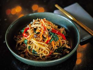 Chef Jenny Kang's Japchae
