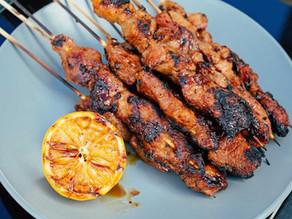 Chef Richard Vitug's Filipino Pork Skewers