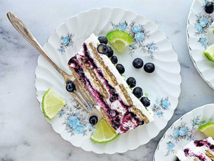 Step by Step: Blueberry Lime Icebox Cake