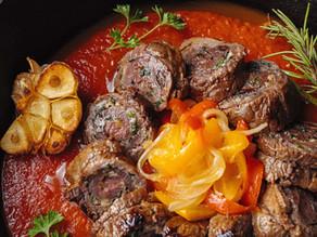 Chef Antonio Tardi's Braciola Napoletana