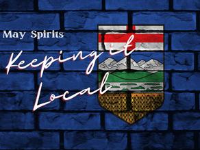 May Spirits: Keeping it Local