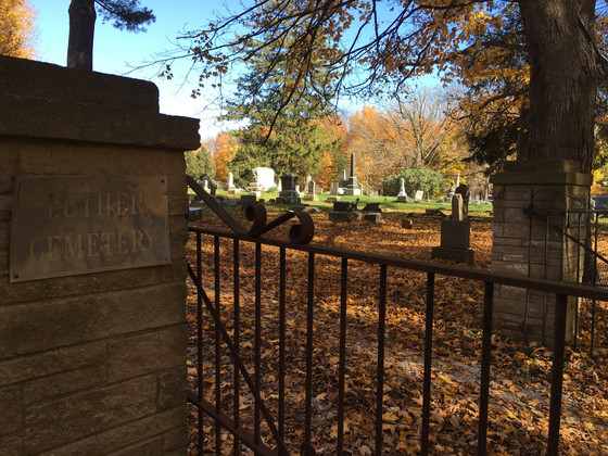 History lost and Forgotten in Luther Cemetery