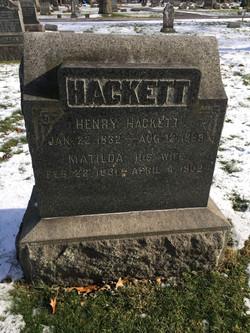 Henry Hackett