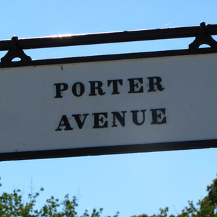 Named after David Dixon Porter, although it is very very far from his grave