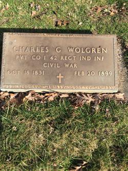 Charles G Wolgren