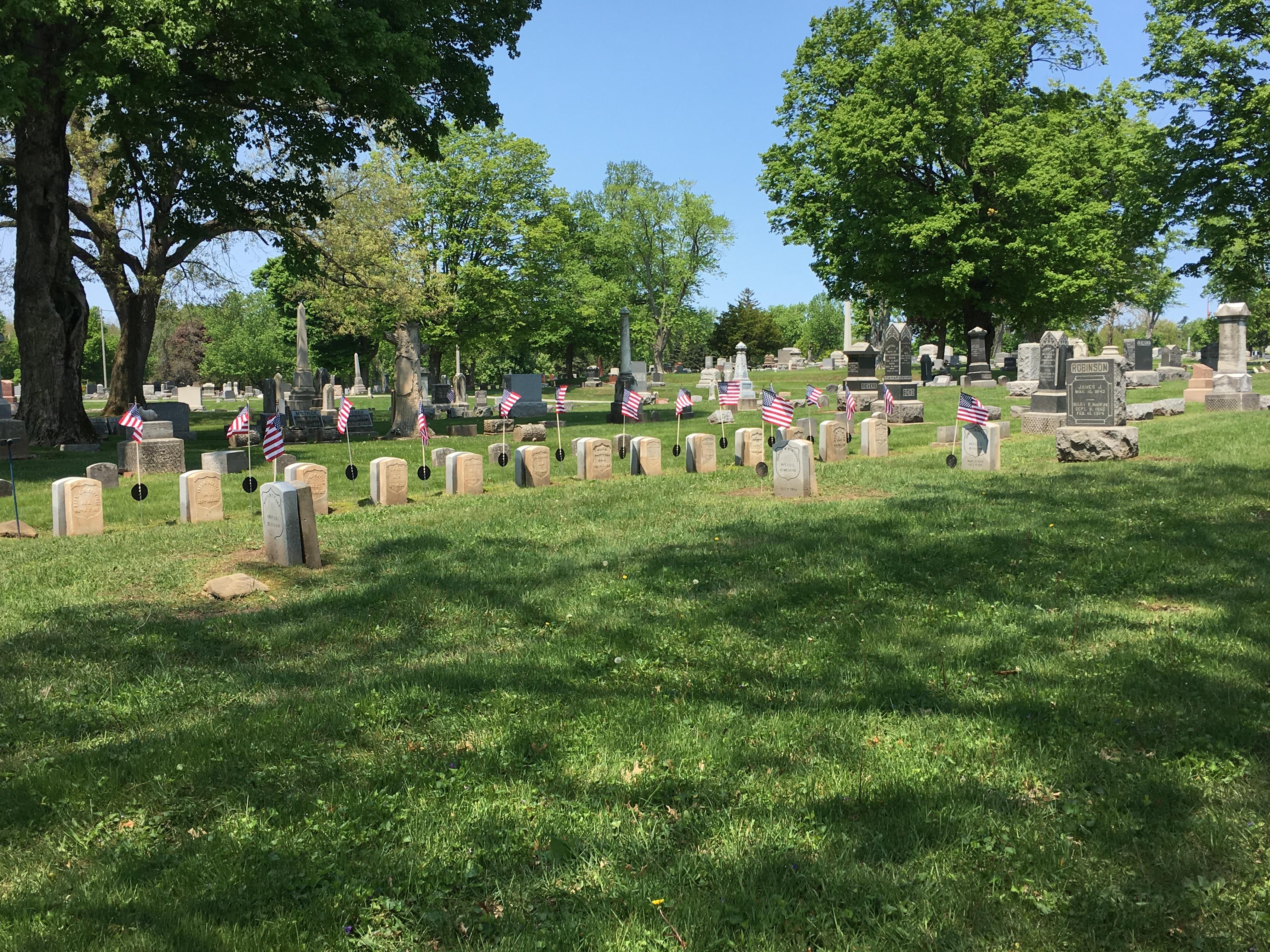 GAR Plot- Maplewood Cemetery Valparaiso