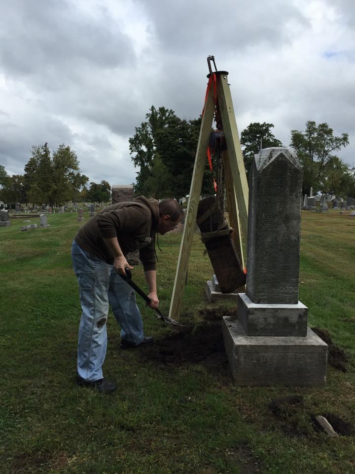 2015 Headstone Restoration