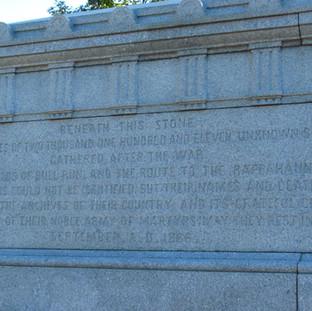 Civil War Veterans Memorial Grave