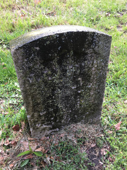 JJ Middaugh Headstone before cleaning