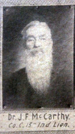 Dr. John F McCarthy