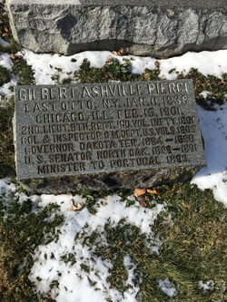 Gilbert Ashville Pierce Military