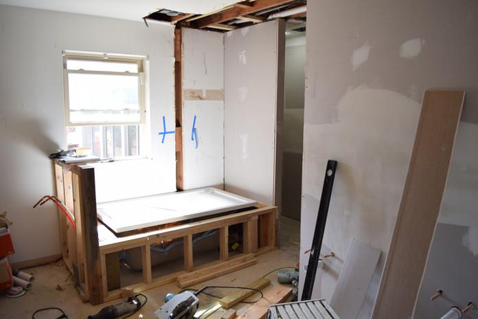 Bathroom Remodel Deconstruction Phase