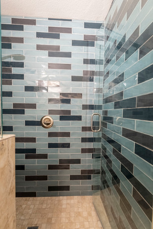 Shower Remodel After Picture