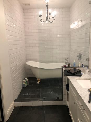 Dallas Bathroom Remodel Before Picture