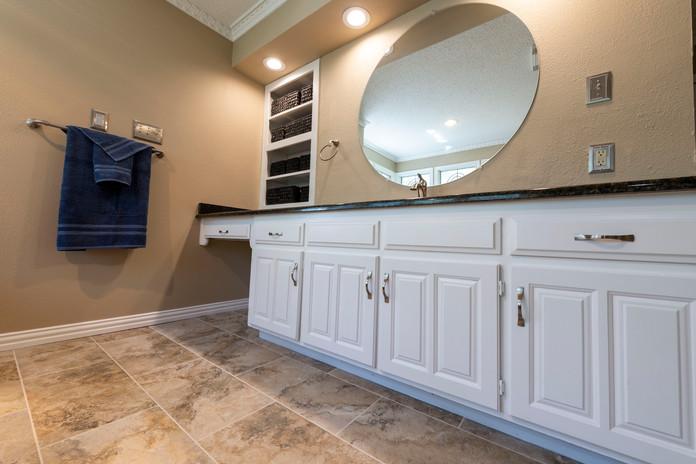 Travertino Bathroom Floor Tile