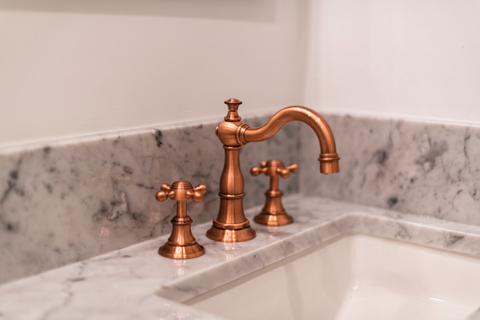Bronze Faucet Kitchen Sink Appliance