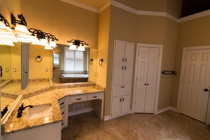 Bathroom Remodel Granite Countertop