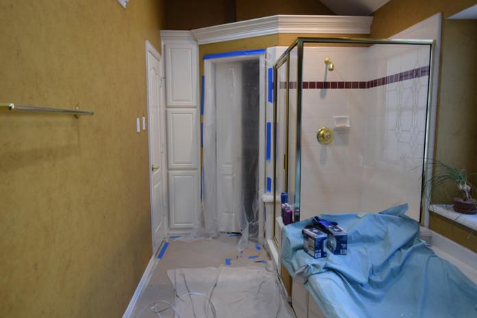 Bathroom Cleanup Tear Down Phase
