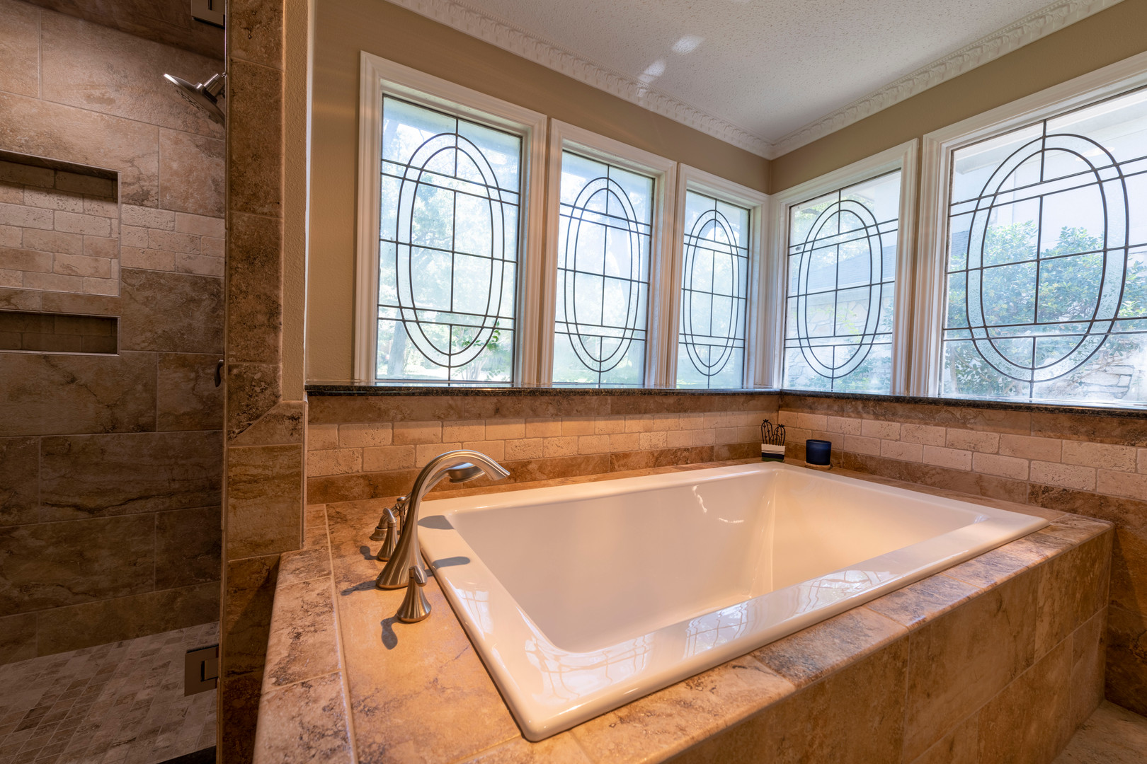 White Bathtub Remodel