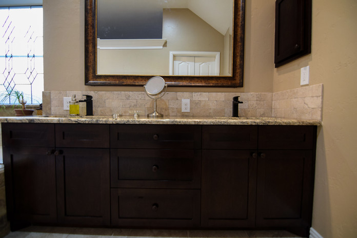 Cabinet Refacing Bathroom Remodel