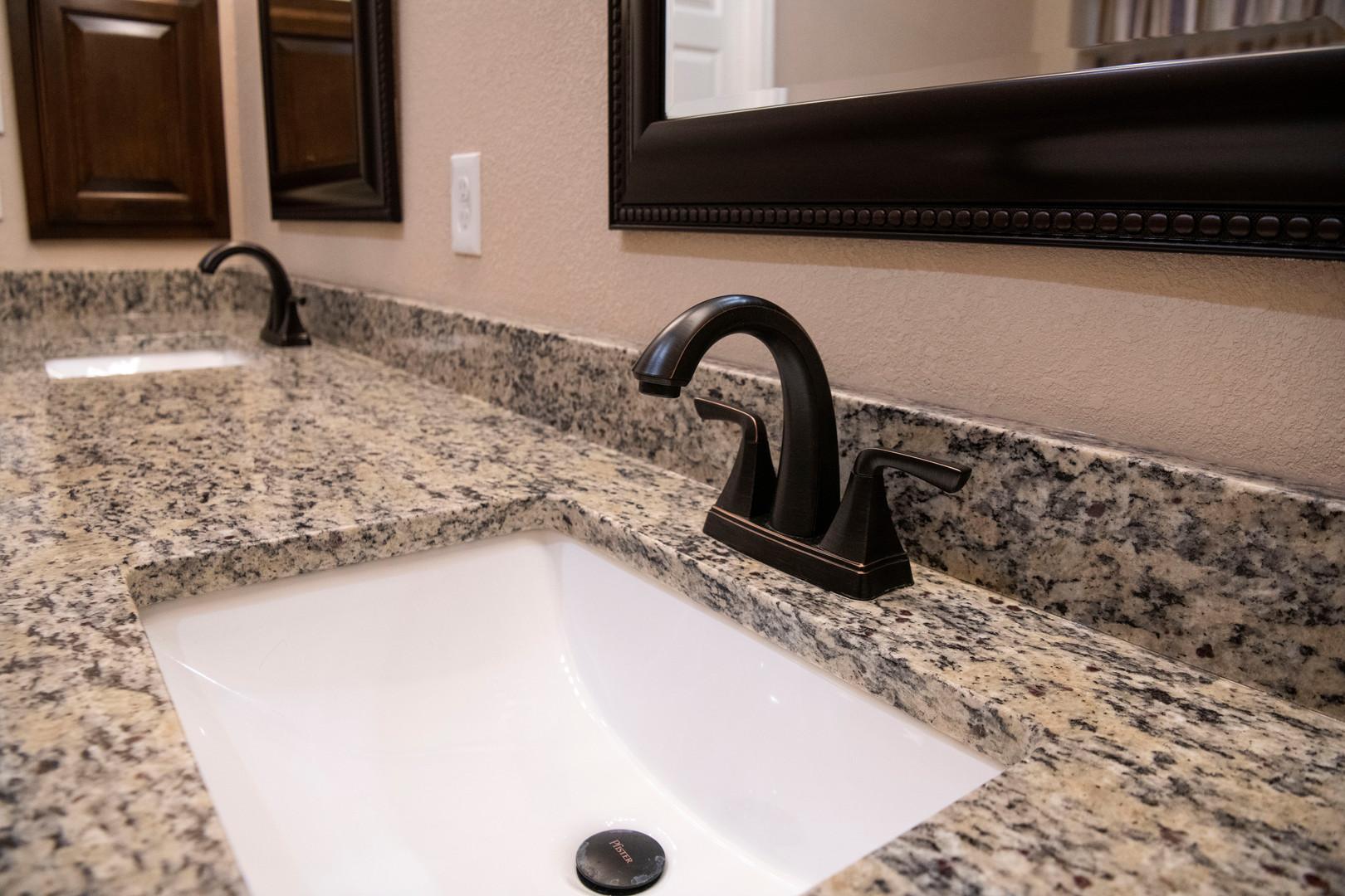 Santa Cecilia Granite Bathroom Sink