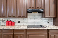 White Subway Tiles kitchen Backsplash