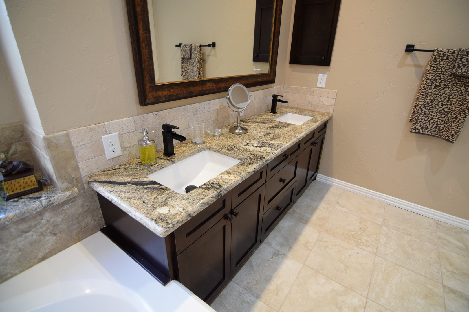 Bathroom Remodel Granite Sink Top