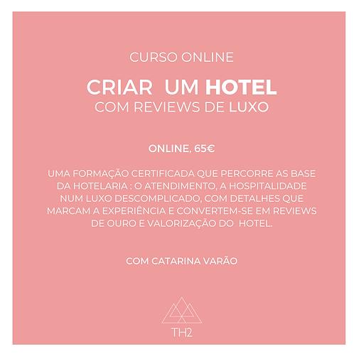 Criar um Hotel com Reviews de Luxo