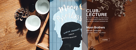 #012 ✦ Club Lecture, Mai 2021 ✦ Moon Brothers (Sarah Crossan)