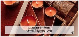 #010 [CHALLENGE] L'Escalier littéraire | Objectifs lecture 2021