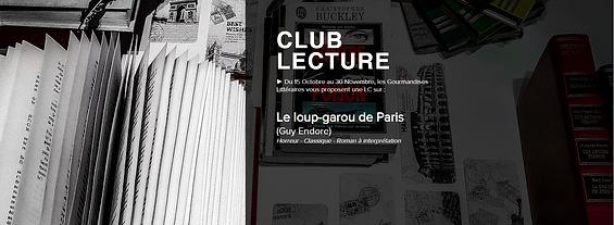 #008 [CLUB LECTURE] Le loup-garou de Paris (Guy Endore)