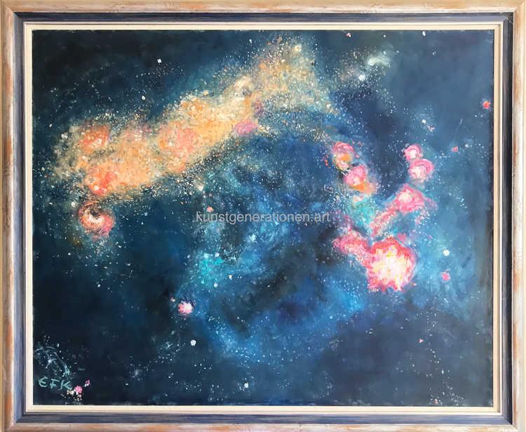 Galaxis 2 1993O/C80x60 cm
