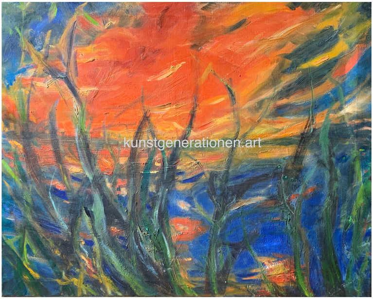 Rote Wolke1996O/C120x100 cm