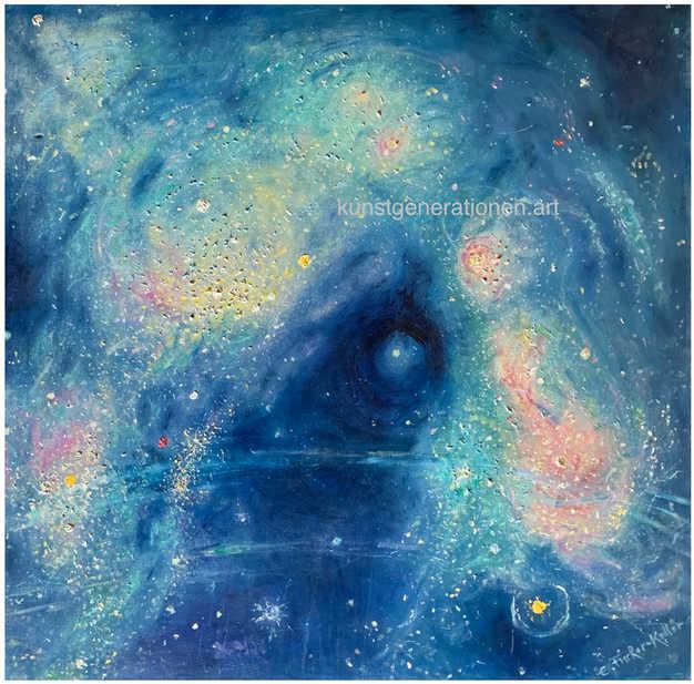 Galaxis 11992O/C80x80 cm
