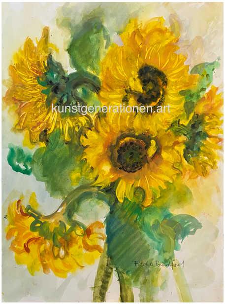 Sonnenblumen1996W/C35x46 cm