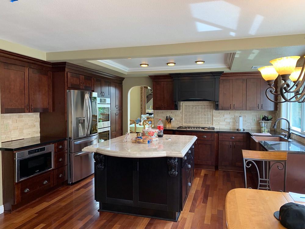 Kitchen Cabinet Refinishing Miami