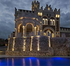 Castello at night