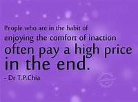 The Price of Inaction
