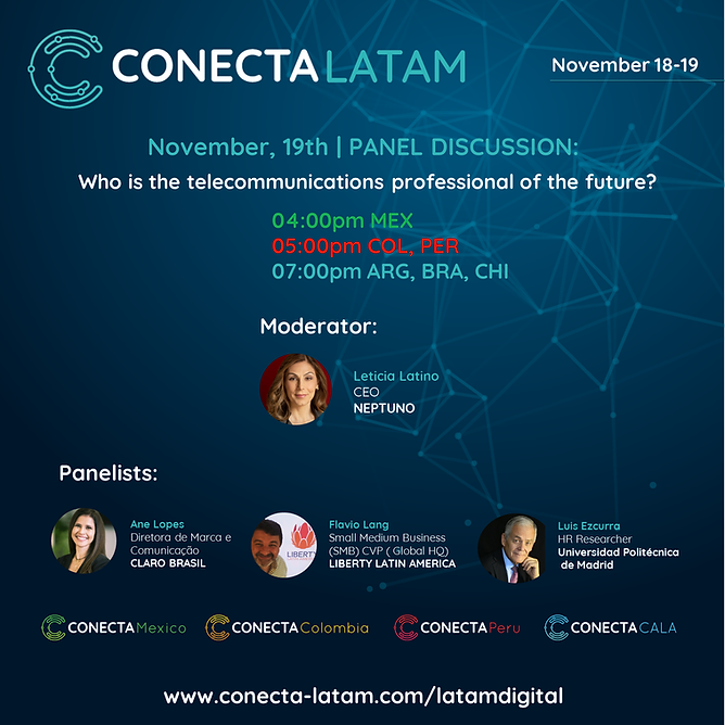 Conecta Latam Who is the professional of