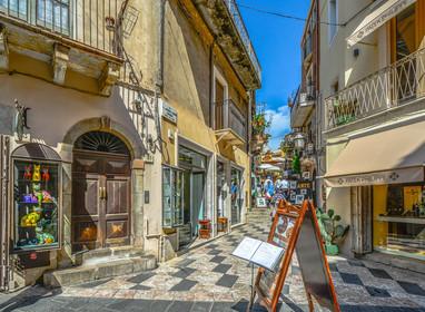 Streets of Taormina
