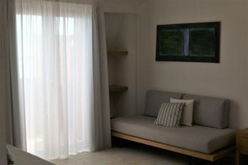 Junior Suite Sea View Grecale Living Roo