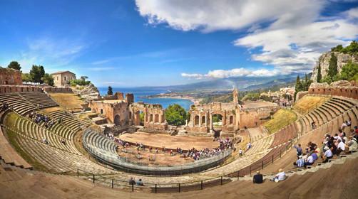 Taormina Greek Amphitheater