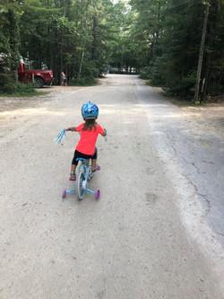 Kid enjoying the park 2019