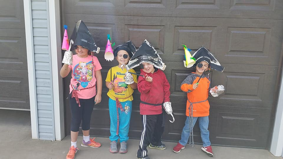 Pirates Weekend Crafts 2018
