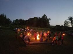 Group Bonfire/DJ for Halloween 2019